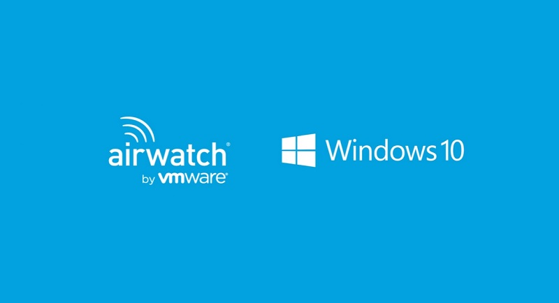 AirWatch and Windows 10